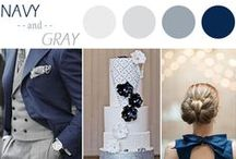 Winter Wonderland / Winter wedding ideas from color pallets to centerpieces and everything in between.
