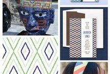 eInvite Top Picks: Ethnic Prints & Patterns / If one print is on current the style train, it's the Aztec print for sure! It has a way of adding a lot of much dimension & character to a look. #aztecprints #etnicpatterns