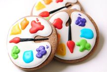 Decorated Cookies / Iced sugar cookie inspiration! / by Kate Hadfield