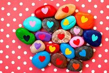 Rock art & painted pebbles / Rock art inspiration and ideas. / by Kate Hadfield