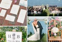 New England Inspired Wedding Ideas / We've got it all in New England - from beautiful beaches to sandy mountains and everything in between. Choose a summer wedding on the coast, or an extravagant reception in one of our many famous historical mansions and halls. With such a variety of places and prices - your sure to find something to meet your needs. In New England, you'll find a wealth of diverse travel experiences within just a few hours drive!