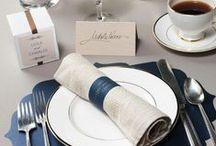 Navy Inspired Wedding Ideas