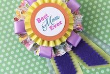 Mother's Day crafts for kids / Mother's Day DIY card & gift ideas and children's craft activities.