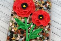 Remembrance Day crafts / Poppy and remembrance activities and crafts to mark Remembrance Day, Veterans Day, Memorial Day, Anzac Day.