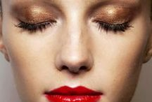 DRAMATIC / Go bold. Check out these inspiring photos for some trendy and beautiful looks and tips for gorgeous makeup application.