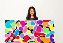 Art projects for kids / Art projects for kids to do at home or in the classroom! Fine Art lessons and art projects for children.
