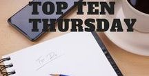 Top Ten Tues-/Thursday / Writing Challenge