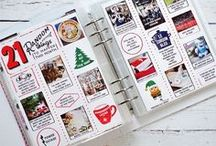 December Daily / Ideas and inspiration for the December Daily / Journal Your Christmas / Countdown to Christmas / Document Your December scrapbooking album projects!