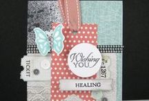 Rubber Stamping / Stampin' Up! Cards&Ideas / by Amanda Cable
