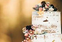 Wedding + Flowers & Cake