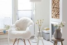 Scandinavian | Style / Crisp and clean whites paired with modern design and mid-century classics / by SmartFurniture
