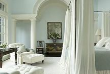 A Restful Night / Beds, linens, and everything else that pertains to the room of sleep.