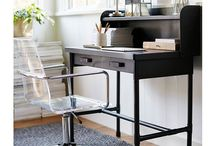 Concentration Stations / Furniture and workspaces to inspire, not depress with the mess.  ;)