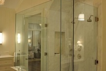 Shower doors / www.andersonglass.com / by Jackie @ Lips, Hips & Fashion Tips