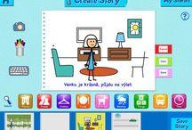 Storytelling - Tvůrčí psaní / iOS apps for storytelling and storylines - aplikace pro tvorbu vlastních knížek a obrázkových příběhů