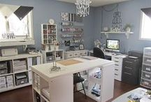 Craft Room Organisation / by Angela Sargeant - Independent Stampin' Up!® Demonstrator