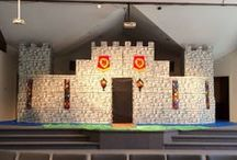 VBS / Decorating ideas for different vacation bible school themes / by Donna Perkins