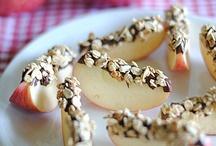 snack ideas / by Molly Lefmann