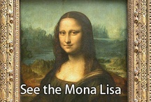 Art: Mona Lisa / by DeAnn Madden 💋