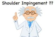 Shoulder Impingement / Do you have shoulder impingement??  Here are some articles and videos to help