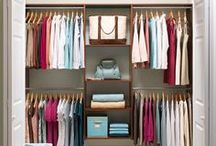 Close It in the Closet / Wardrobe storage, dressing areas, vanities...anything to do with getting ready for the day!