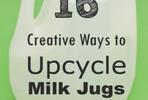 Upcycle Magic / Repurpose as well as recycle!