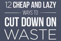 A Waste-Less Life / Low- and zero-waste options for saving money (and the planet) one choice at a time.