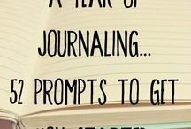 Thoughts on Paper / All about journaling, from bullet journal setup to prompts!