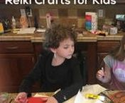 Kids Reiki Craft Projects / Use Reiki in your crafts for kids!