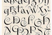Fonts / by Angela Leddy Young