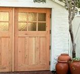 Carriage Doors / Outswing Carriage Doors handcrafted by Real Carriage Door Company.