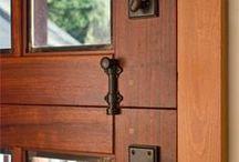 Dutch Doors / Dutch doors handcrafted by Real Carriage Door Company.