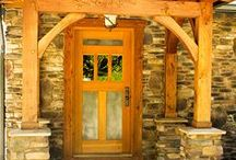 Entry Doors / Entry doors handcrafted by Real Carriage Door Company.