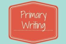 Writing PreK-1 / This collection of writing resources if for the PreK-1st grade CScope classroom.