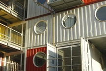 tiny or prefab or container homes....