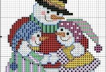 Cross Stitch Christmas / by Linda Arnold-Heppes
