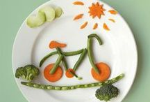 Food Art / Art is food. Food is art. What is a plate but a blank canvas?