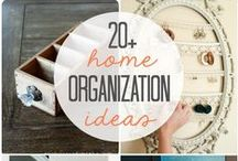 Organizing Tips and Tricks / Clutter happens. We're here to help.