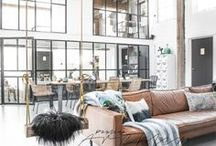 Loft Ideas / Loft-style interiors & decor with vintage warehouse flair.
