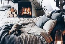 Cabin Decor / Warm and welcoming cabin interiors, architecture and decor.