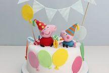 Festa - Peppa / Dicas e idéias para festas com o tema Peppa Pig. Post no site: http://roteirobaby.com.br/2014/01/ideias-para-festa-tema-peppa-pig.html
