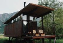 """Tiny House Ideas / Get back to basics with all things """"tiny house."""""""