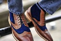 Shoes! / Dapper shoes. Whenever you need to look like a gentleman.