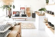 Boho Decor / Eclectic and Bohemian style interiors, decor and style.
