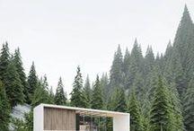 Cabin / Dreamboard of cabin.