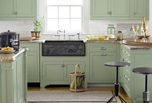 Kitchens / by Etta Starkey