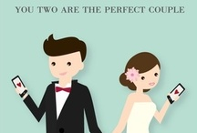 Congratulations - Wedding and Engagement Cards / Congratulations Cards to celebrate love. / by Treat