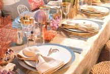 The perfect table set-up / How to organise a table and other areas to have a great party