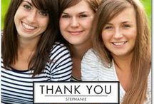 Thank You Cards / Gratitude looks good on you! - Send a thank you card to let someone know how much they are appreciated.