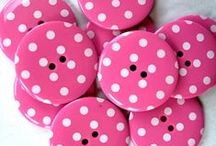 """SASHA'S POKA DOT HUT / Everything on this board are """"POKA Dots"""" (yes i know this is not correct spelling)I heard this little girl telling her mom I love """"POKA"""" dots so now everything on board is """"POKA"""" Dot related."""
